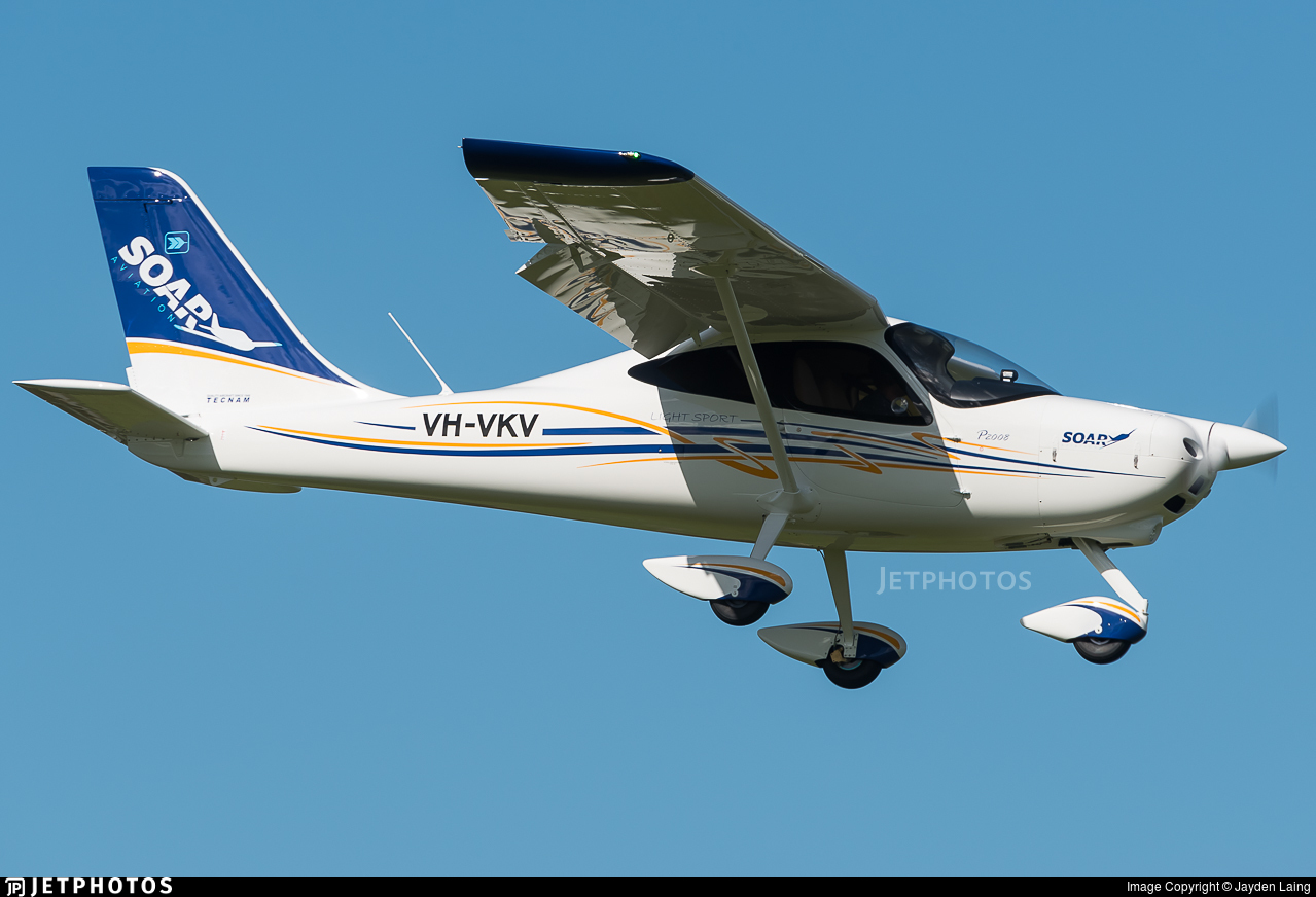 VH-VKV - Tecnam P2008 - Soar Aviation