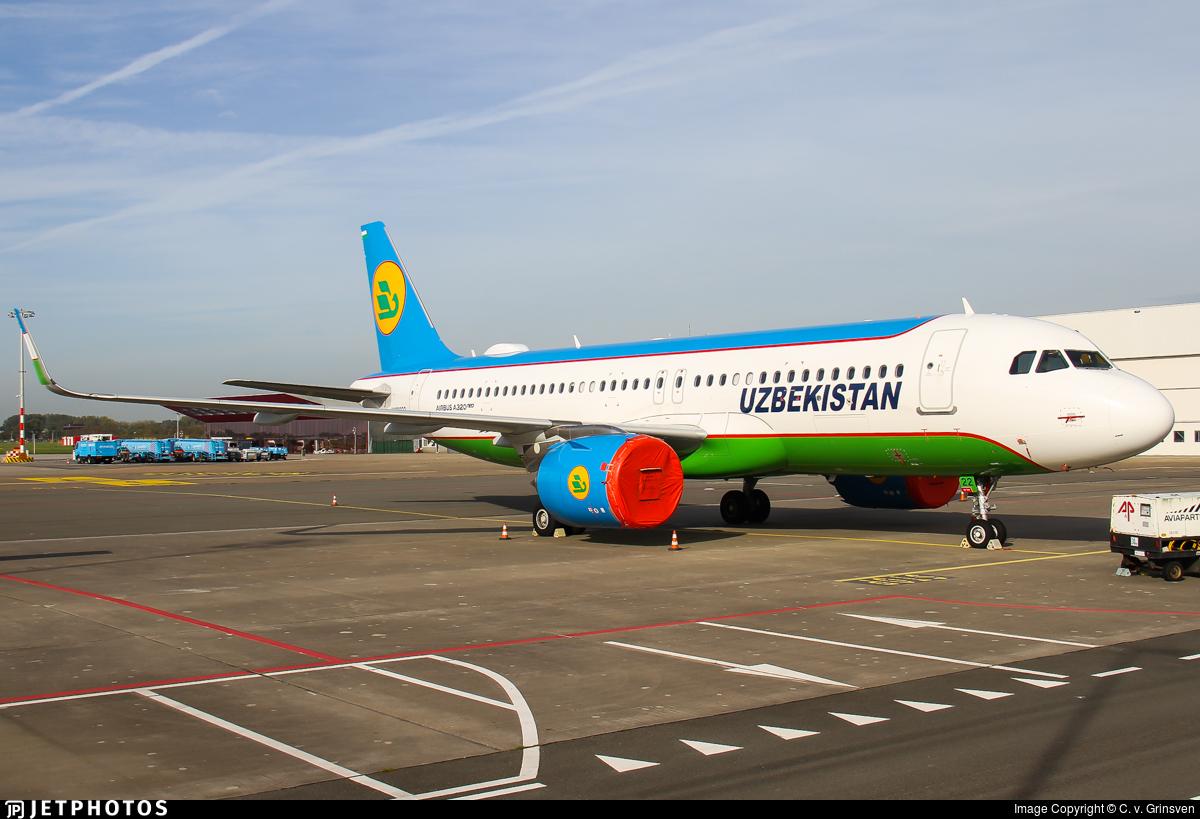 UK32022 - Airbus A320-251N - Uzbekistan Airways
