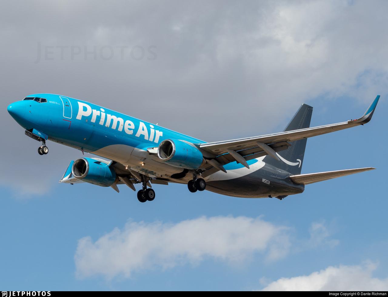 N5113A - Boeing 737-83N(BCF) - Amazon Prime Air (Southern Air)