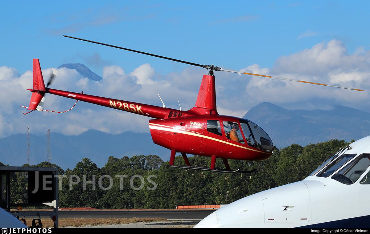 N285K | Robinson R66 Turbine | Private | César Vielman | JetPhotos
