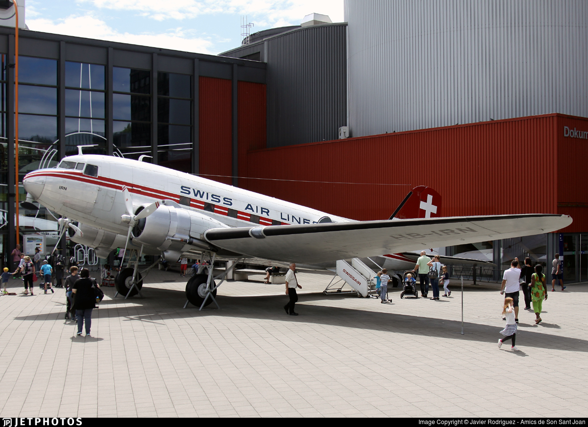 HB-IRN - Douglas C-47-DL Skytrain - Swissair