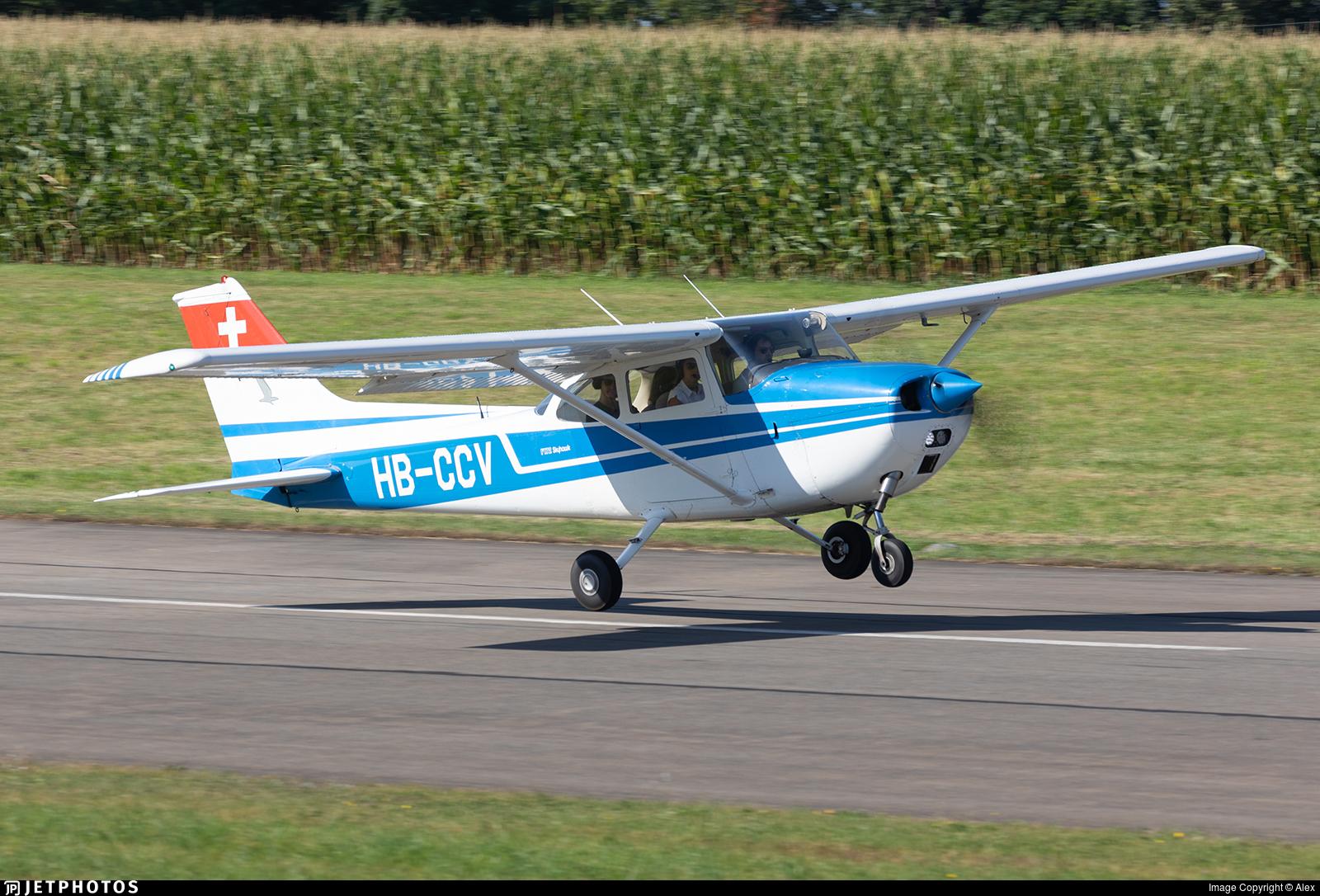 HB-CCV - Reims-Cessna F172M Skyhawk - Private