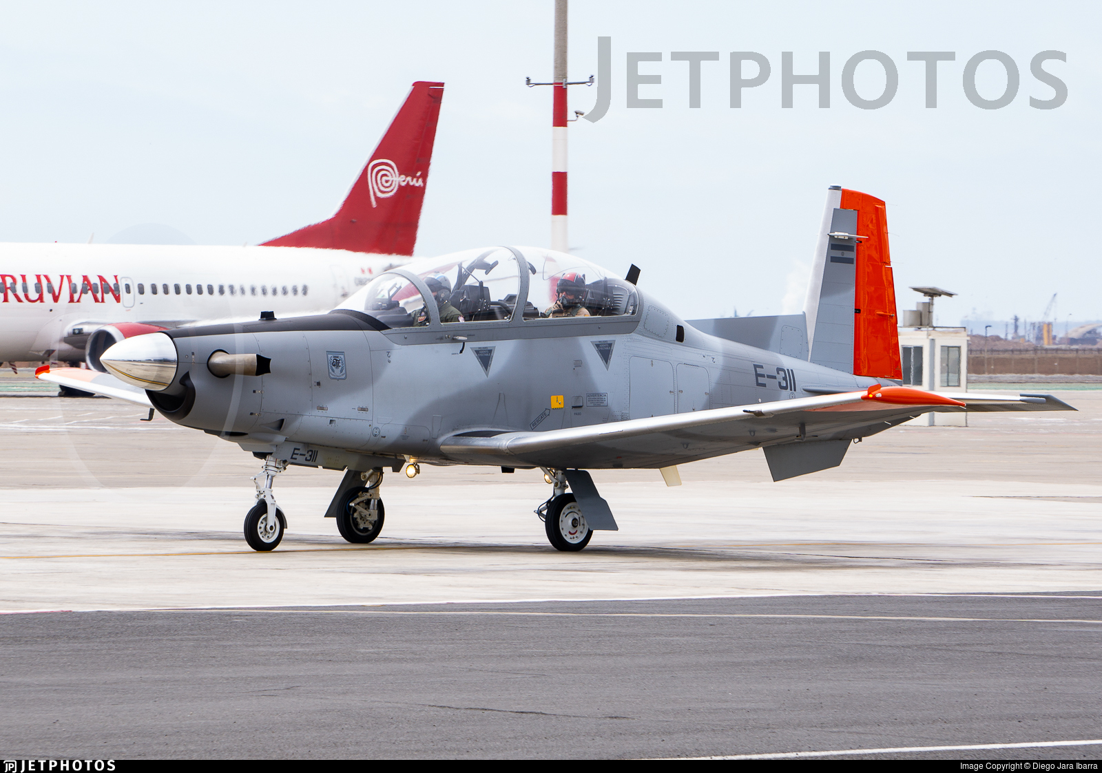 E-311 - Raytheon T-6C Texan II - Argentina - Air Force