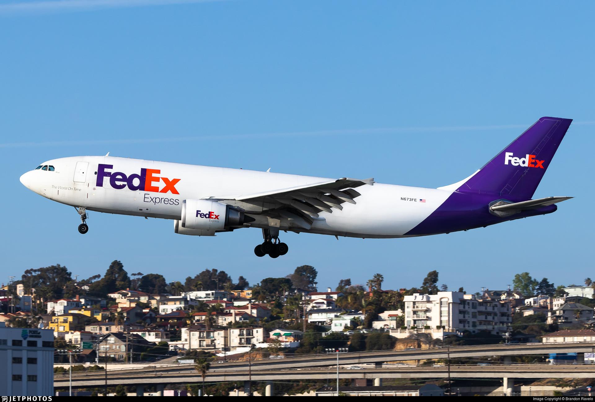 N673FE - Airbus A300F4-605R - FedEx