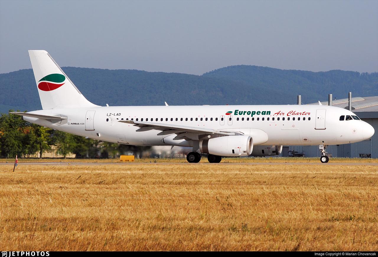LZ-LAD - Airbus A320-231 - European Air Charter
