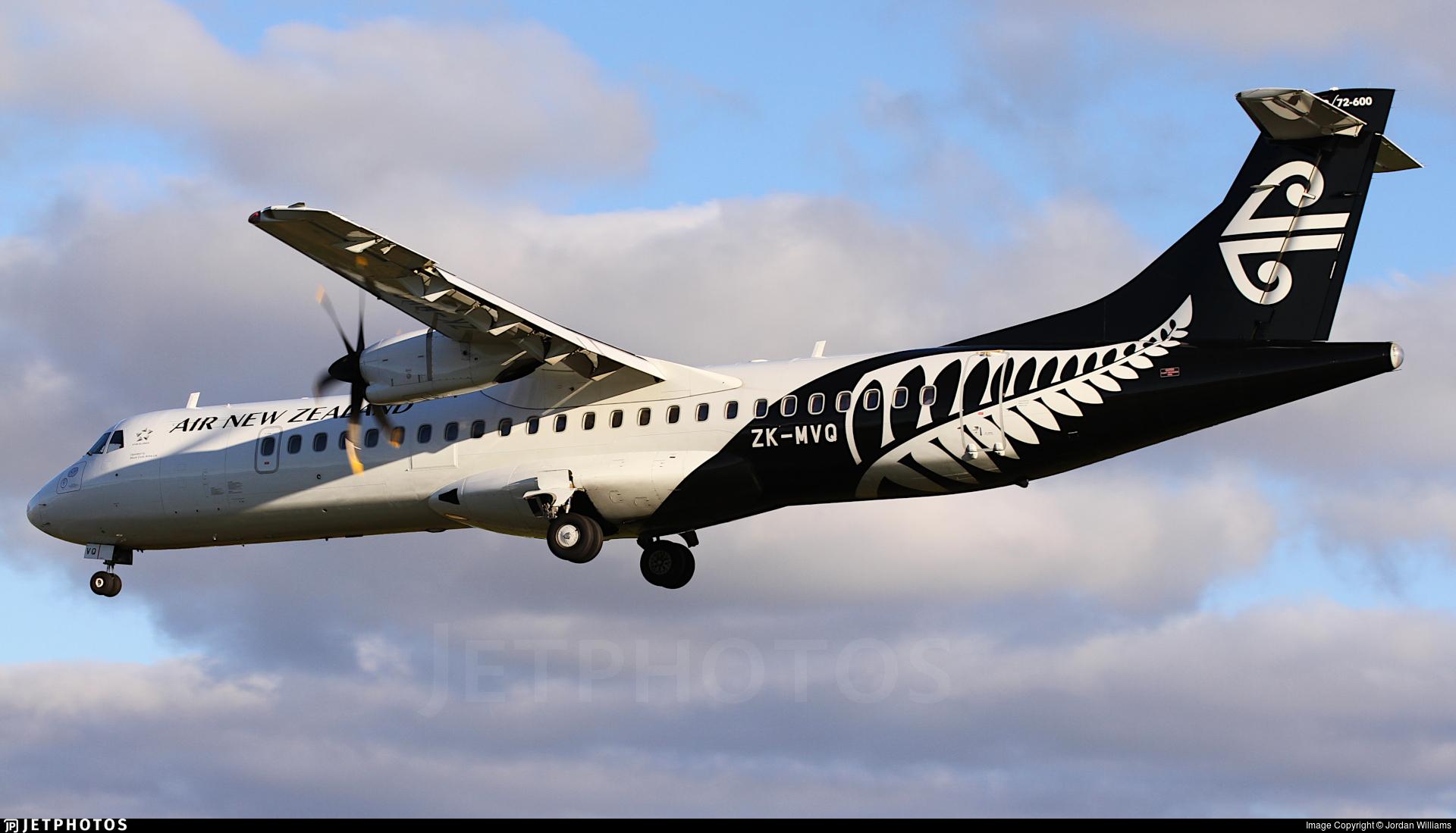 ZK-MVQ - ATR 72-212A(600) - Air New Zealand Link (Mount Cook Airline)