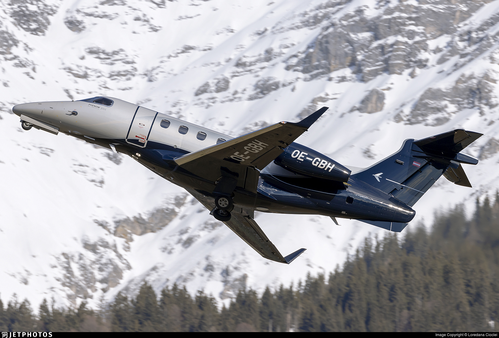OE-GBH - Embraer 505 Phenom 300E - Tyrolean Jet Services