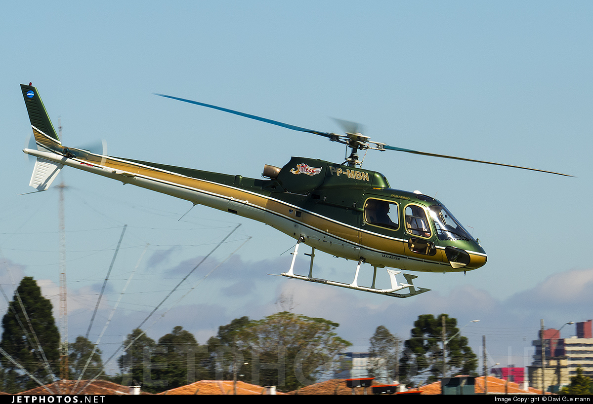 PP-MBN - Eurocopter AS 350 Ecureuil - Aeromaster