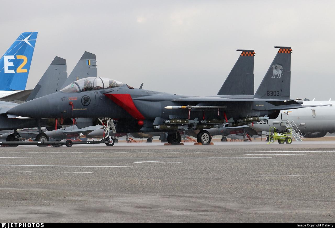 8303 - Boeing F-15SG Strike Eagle - Singapore - Air Force