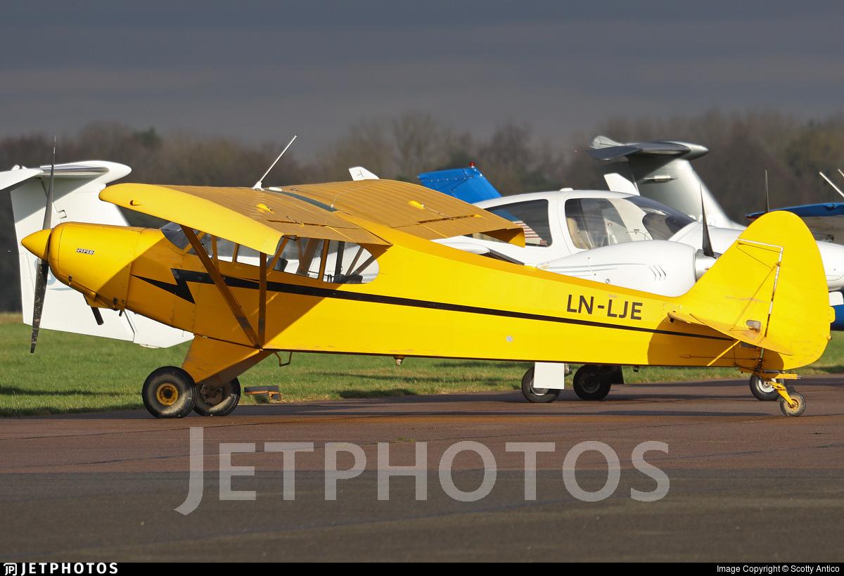 LN-LJE - Piper PA-18-150 Super Cub - Private
