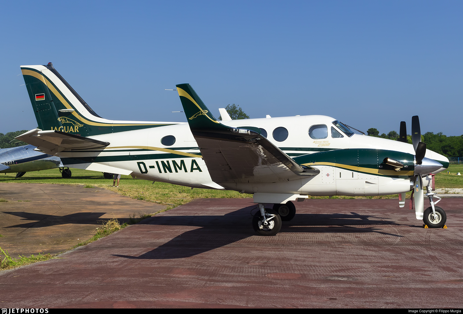 D-INMA - Beechcraft C90B King Air - Private