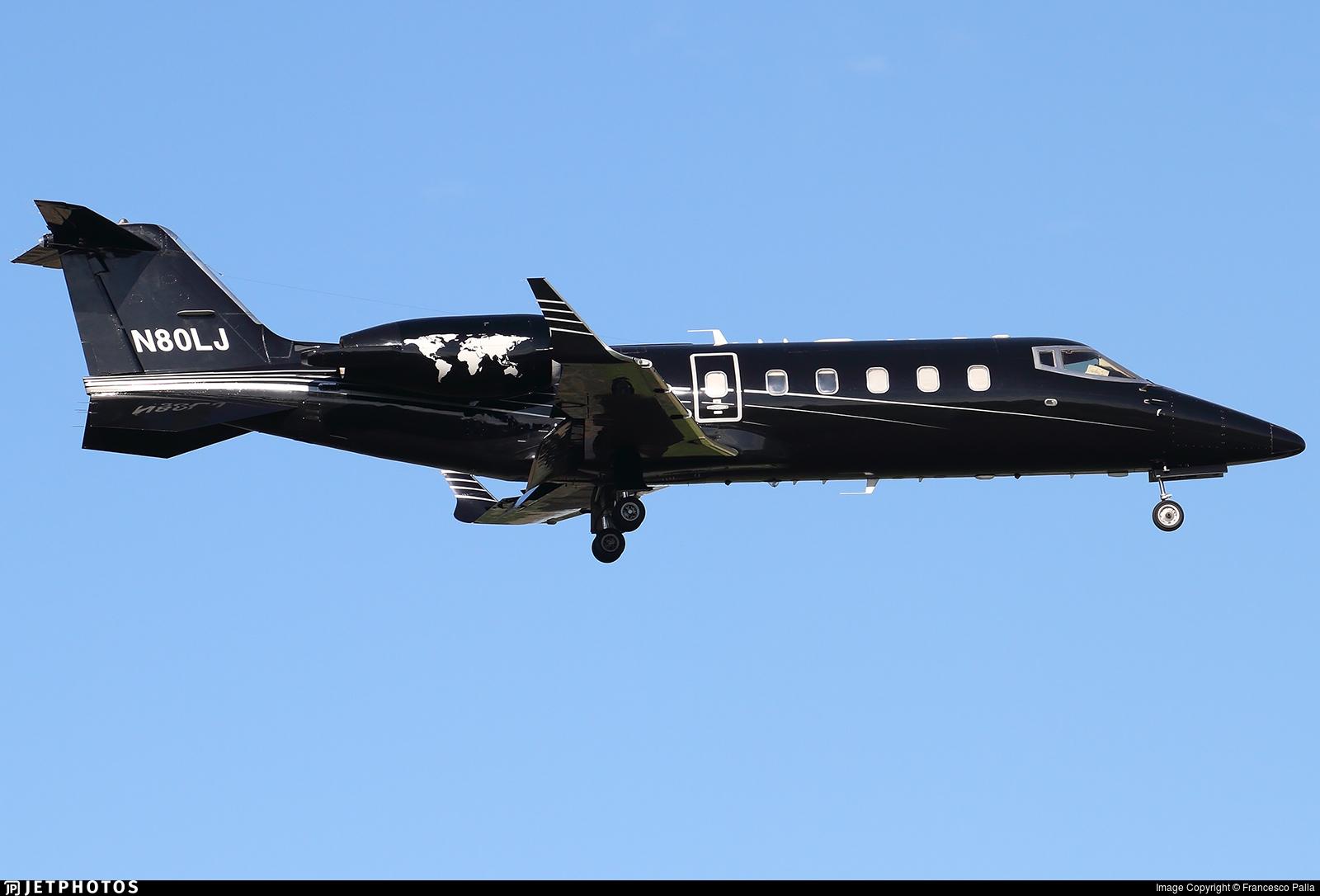 N80LJ - Bombardier Learjet 60 - Private