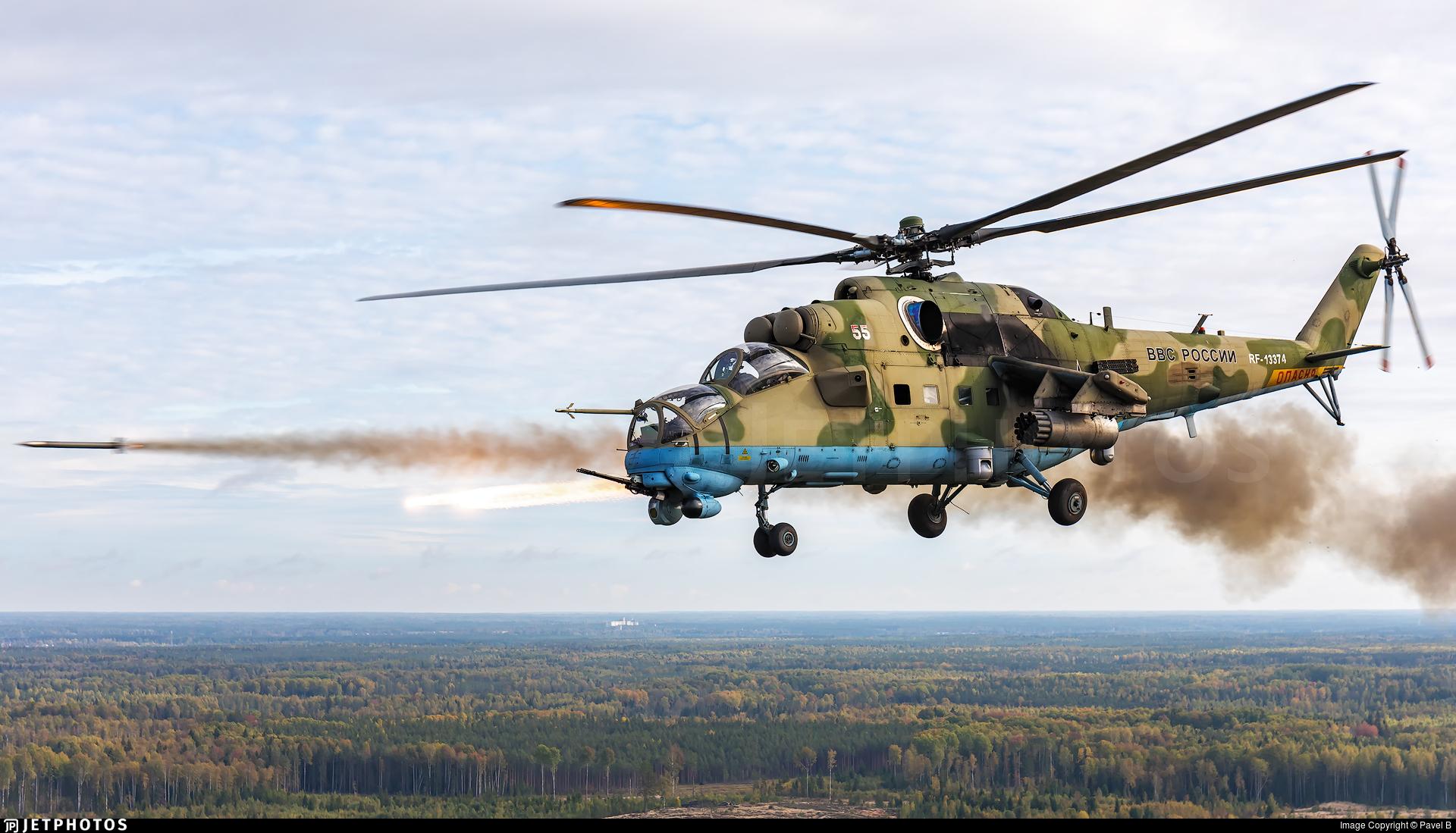 RF-13374 - Mil Mi-35M Hind - Russia - Air Force