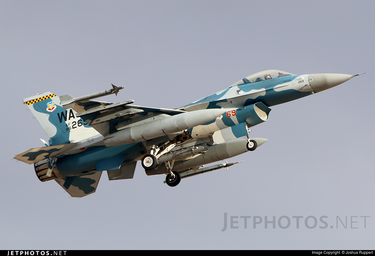 86-0269 - General Dynamics F-16C Fighting Falcon - United States - US Air Force (USAF)