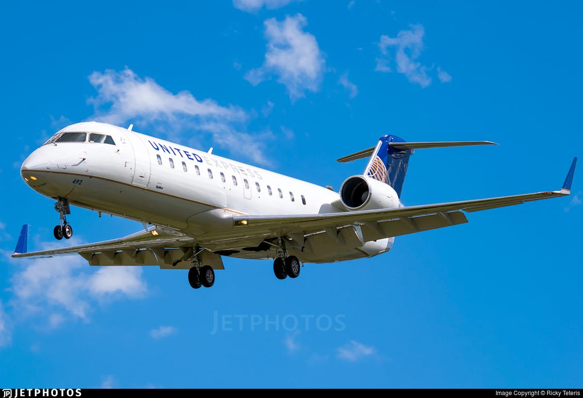 N492SW | Bombardier CRJ-100ER | United Express (SkyWest