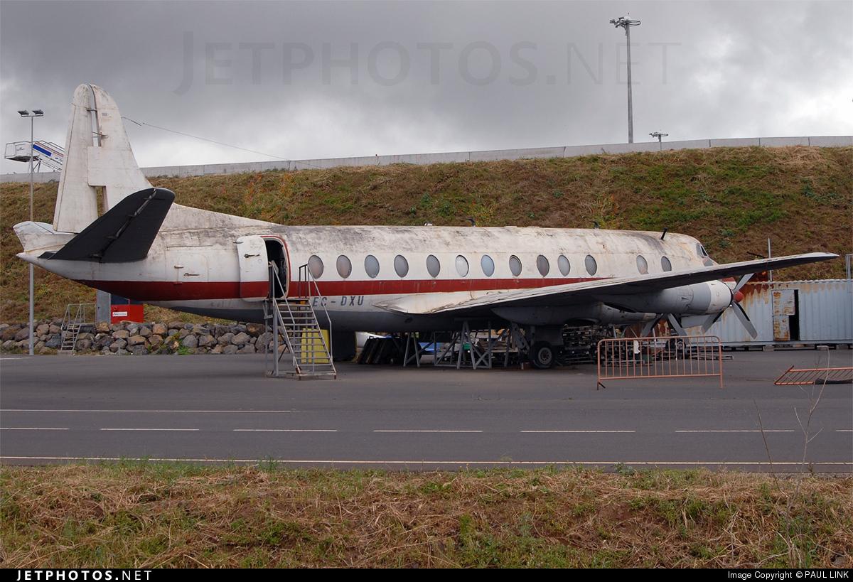 EC-DXU - Vickers Viscount 806 - Líneas Aéreas Canarias (LAC)