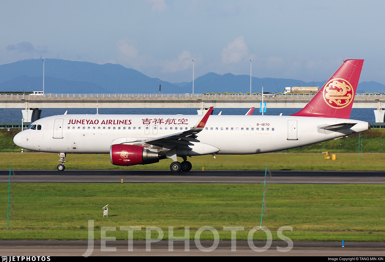 B-1870 - Airbus A320-214 - Juneyao Airlines