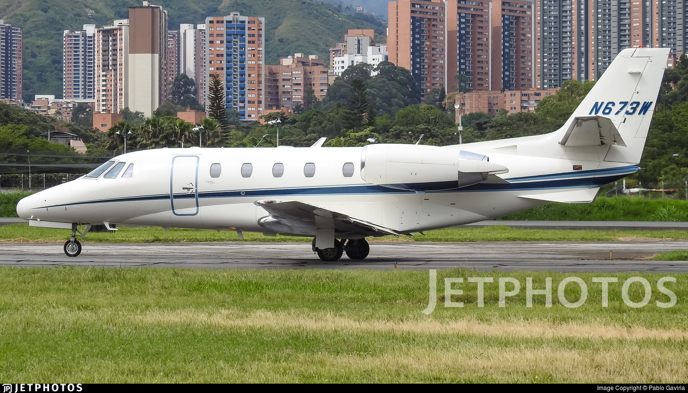 N673W - Cessna 560XL Citation Excel - Private