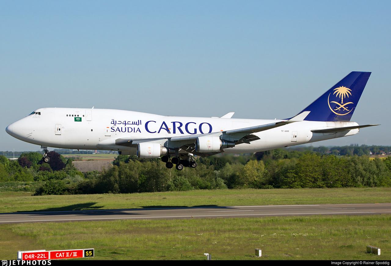 TF-AMR - Boeing 747-45E(BDSF) - Saudi Arabian Airlines Cargo (Air Atlanta Icelandic)