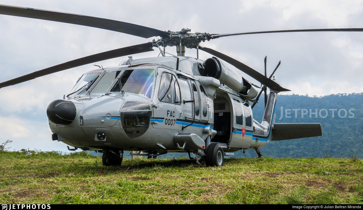 FAC0007 - Sikorsky UH-60A Blackhawk - Colombia - Air Force