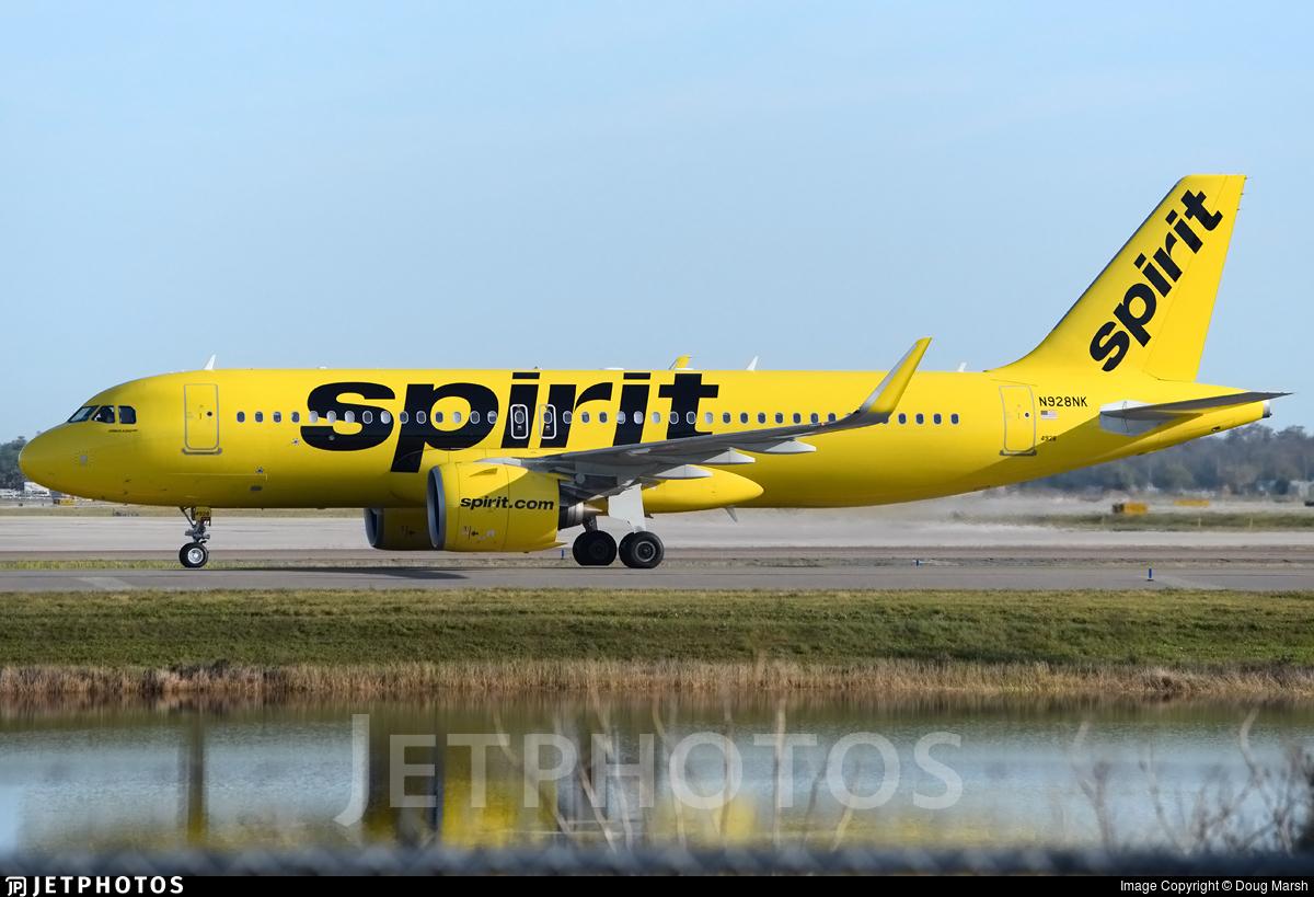 N928NK - Airbus A320-271N - Spirit Airlines