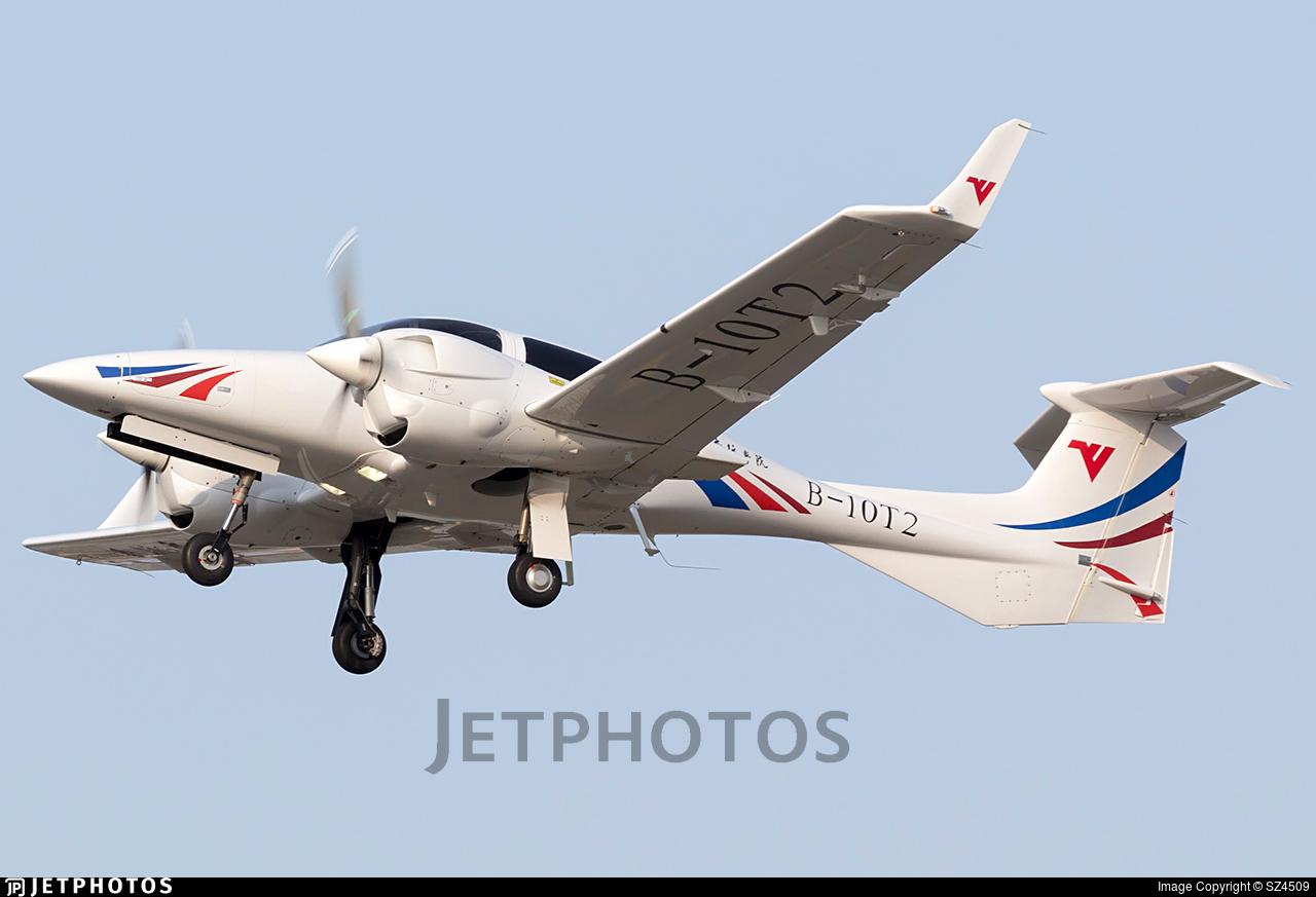 B-10T2 - Diamond DA-42 NG Twin Star - Civil Aviation Flight University of China