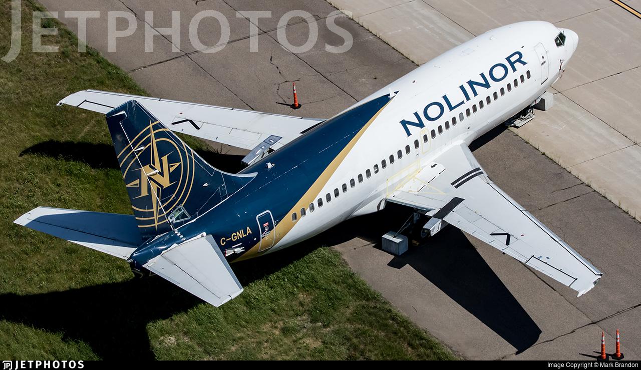 C-GNLA - Boeing 737-2L9(Adv) - Nolinor Aviation