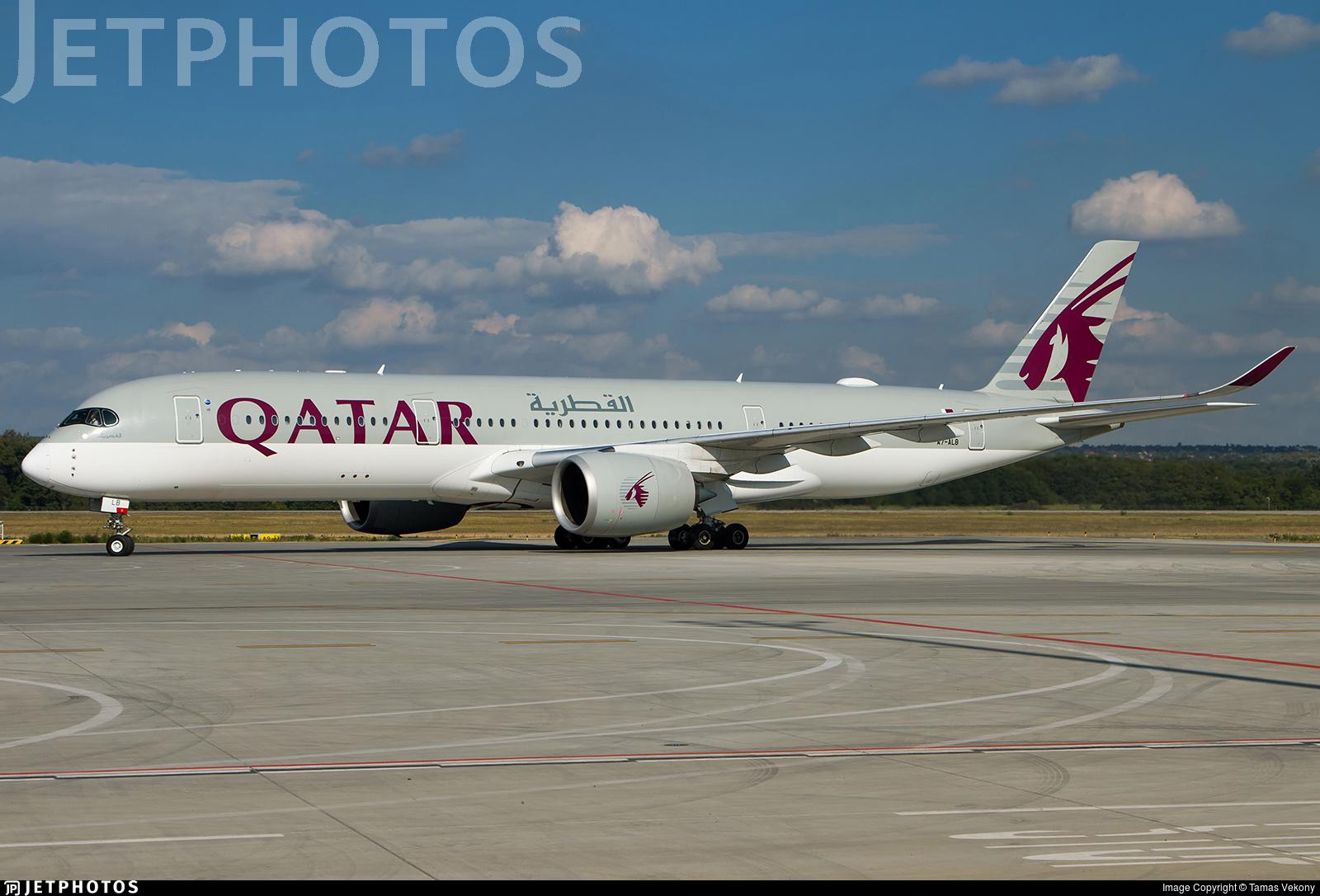 A7-ALB - Airbus A350-941 - Qatar Airways