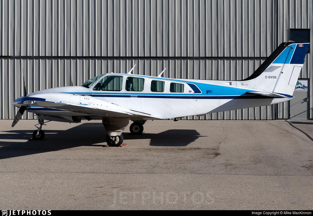 C-GVGG - Beechcraft 58TC Baron - Private