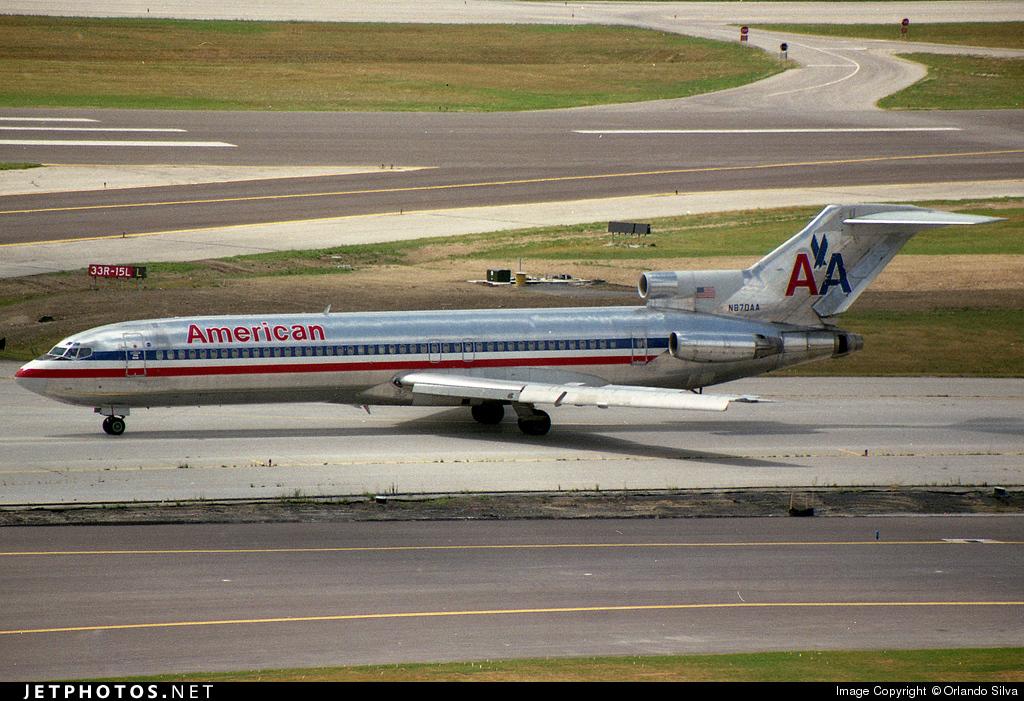 N870AA - Boeing 727-223(Adv) - American Airlines