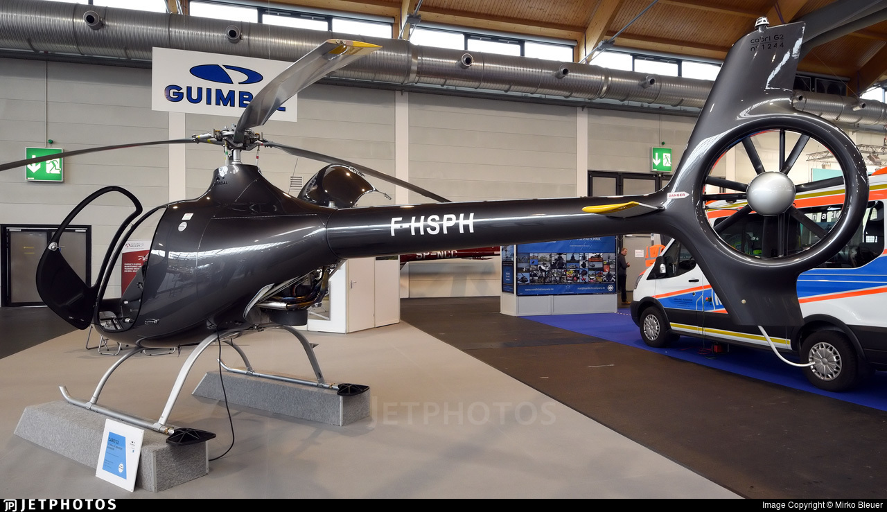 F-HSPH - Guimbal Cabri G2 - Private