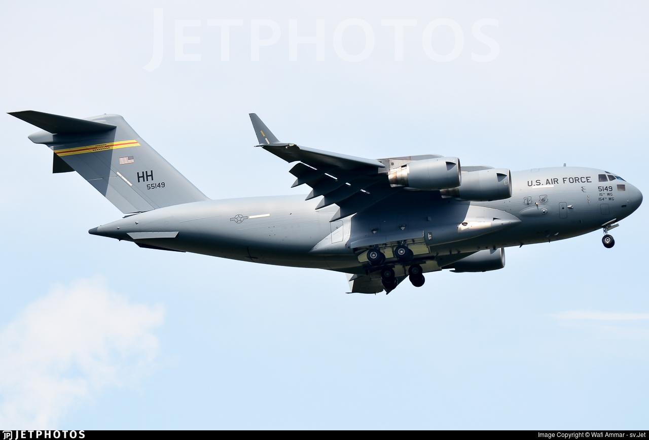 05-5149 - Boeing C-17A Globemaster III - United States - US Air Force (USAF)