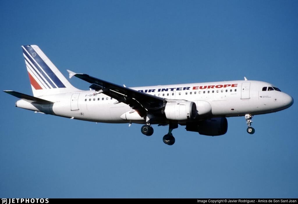F-GPMC - Airbus A319-113 - Air Inter Europe