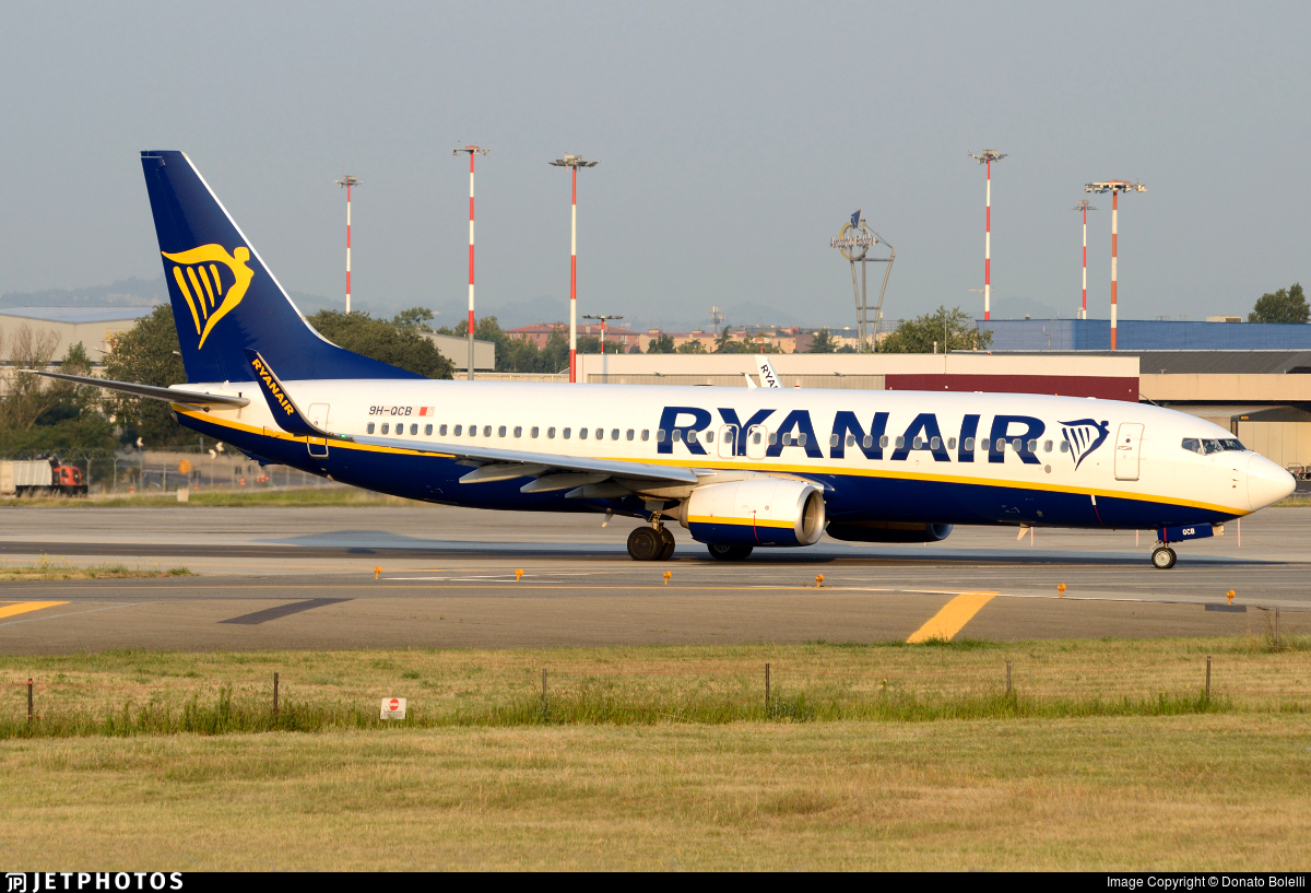9H-QCB - Boeing 737-8AS - Ryanair (Malta Air)