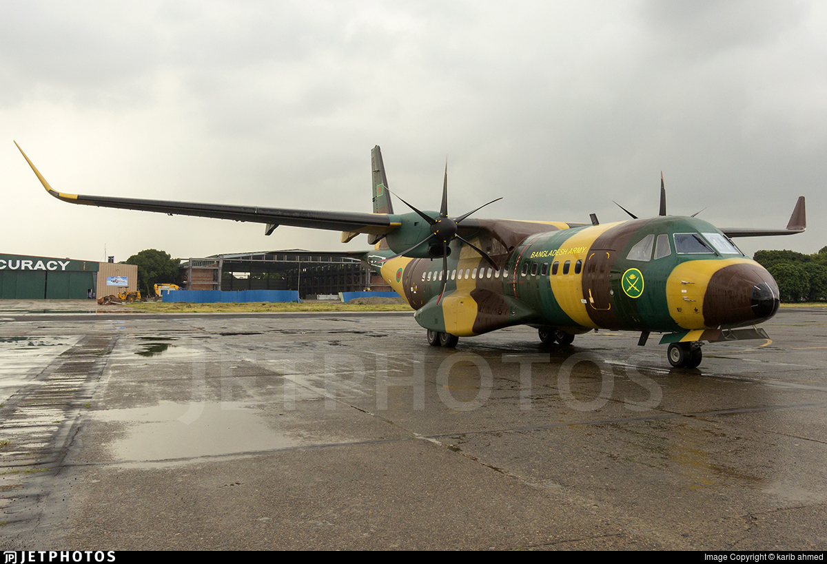S3-BRT - Airbus C295W - Bangladesh - Army Aviation