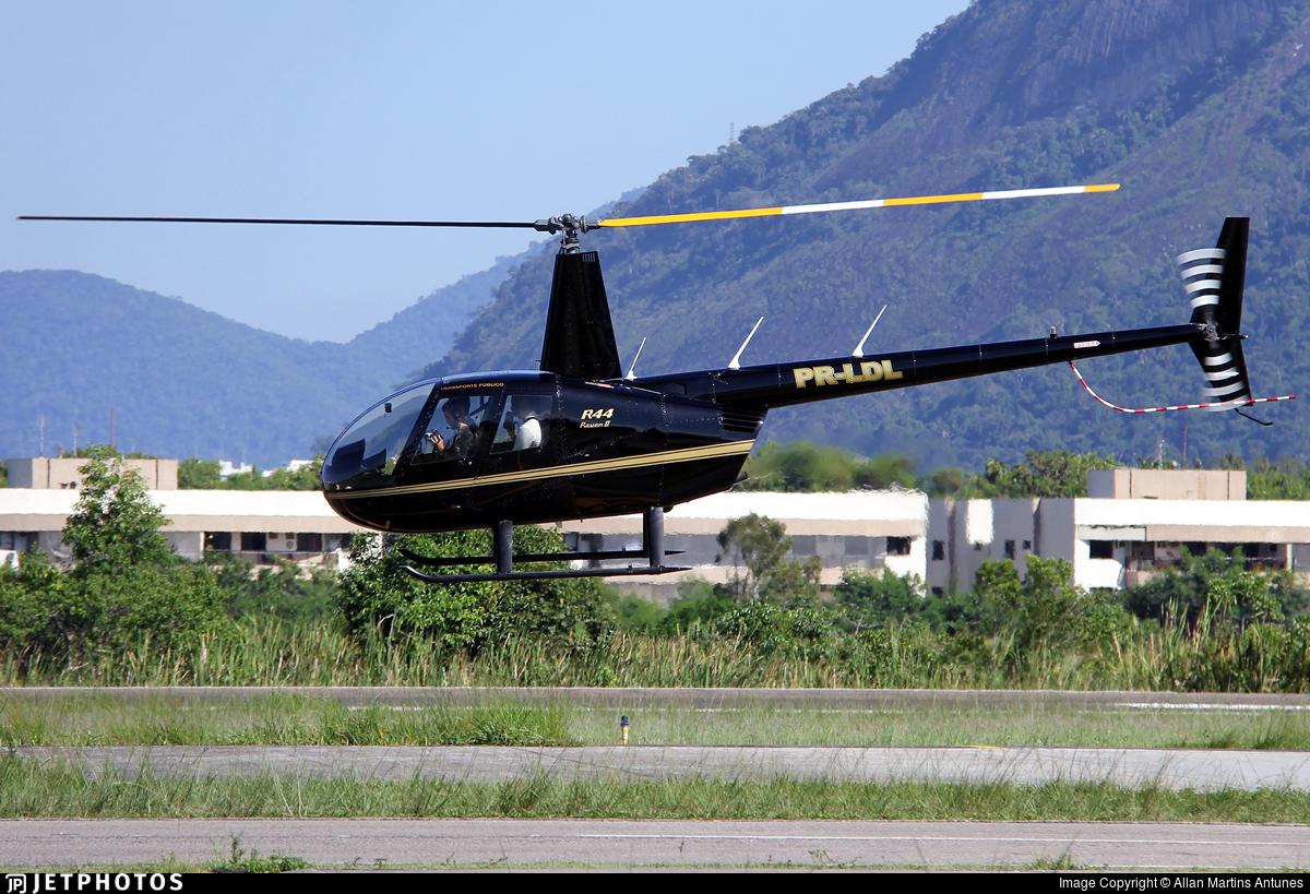 PR-LDL - Robinson R44 Raven II - Ultra Planna Táxi Aéreo