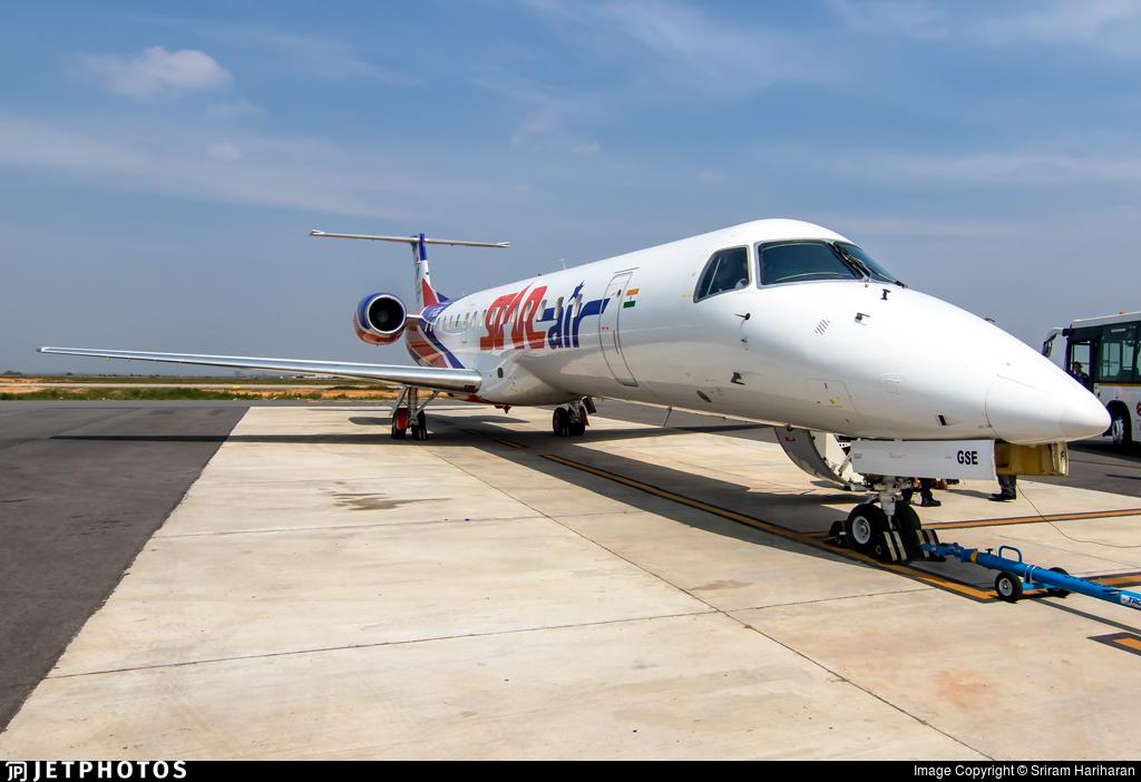 VT-GSE - Embraer ERJ-145LR - Star Air [India]