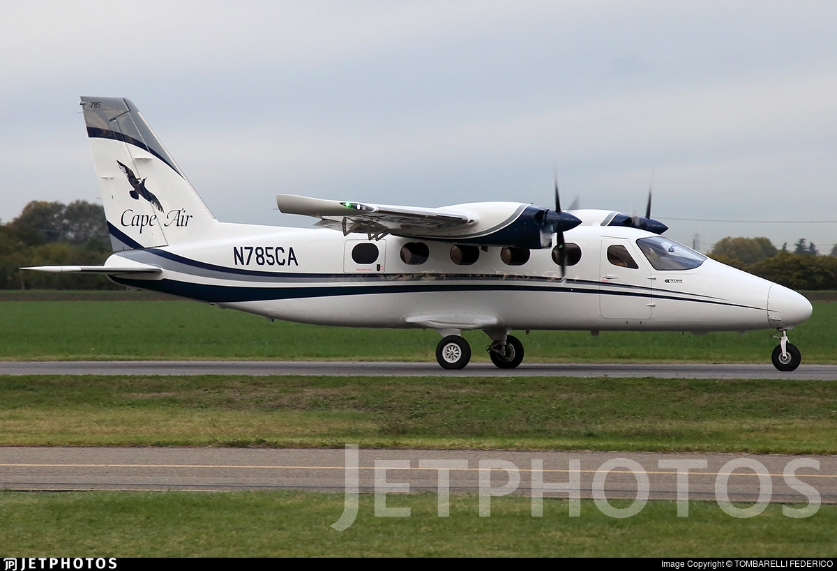 N785CA - Tecnam P2012 Traveller - Cape Air