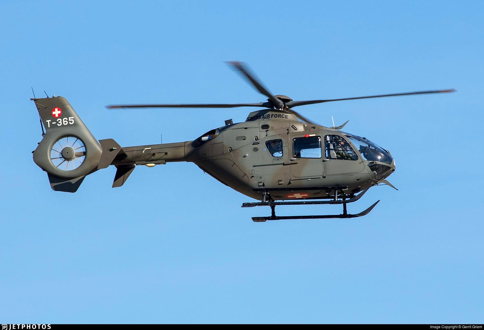 T-365 - Eurocopter EC 635P2+ - Switzerland - Air Force