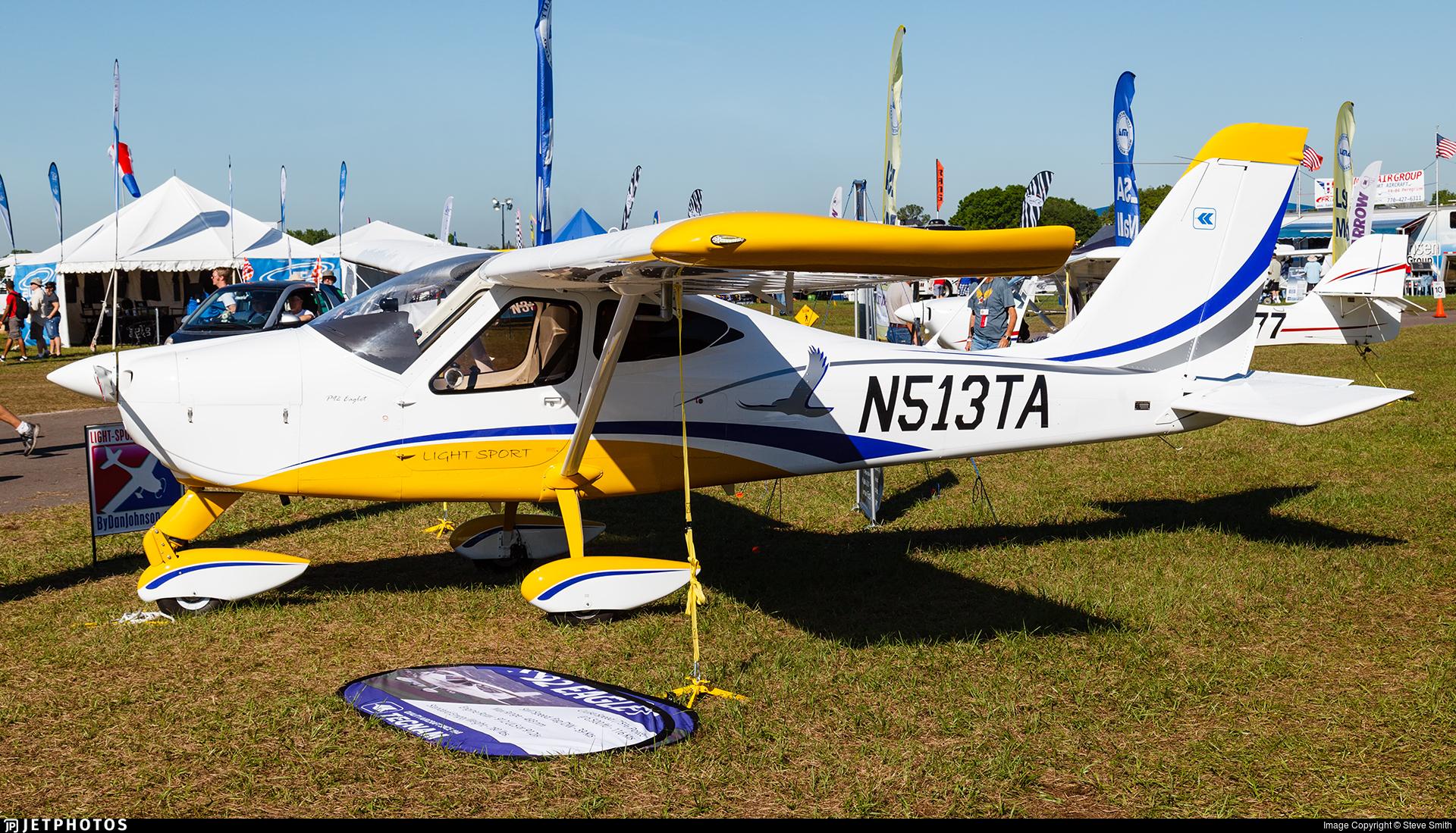 N513TA - Tecnam P92 Eaglet Light Sport - Private