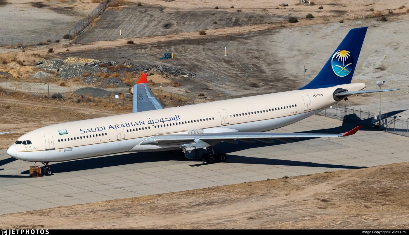 TC-OCD - Airbus A330-322 - Saudi Arabian Airlines (Onur Air)