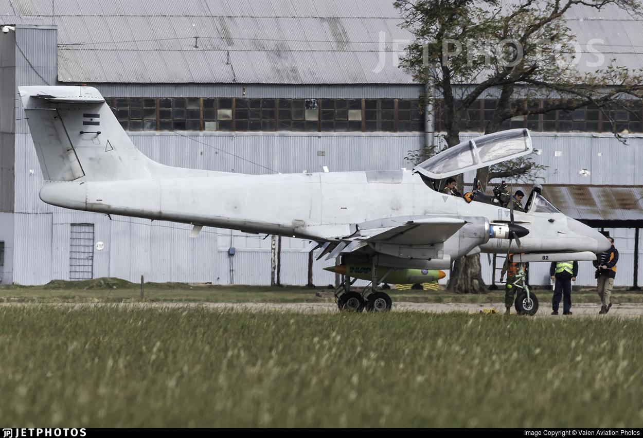 A-582 - FMA IA-58D Pucará - Argentina - Air Force