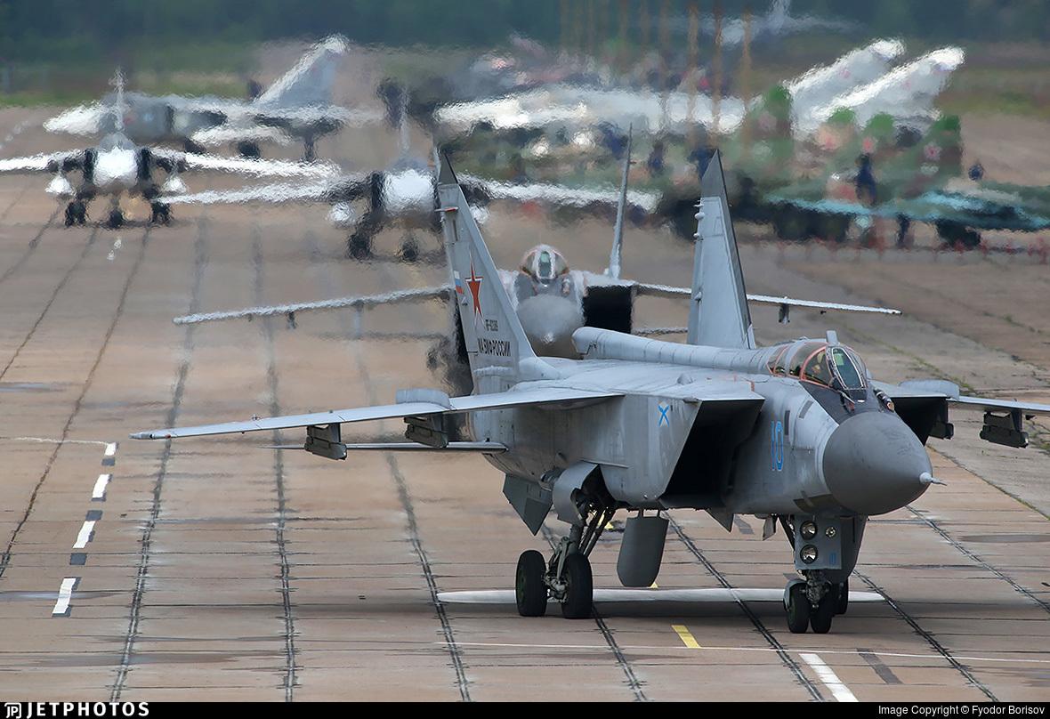 RF-92389 - Mikoyan-Gurevich MiG-31BM Foxhound - Russia - Navy