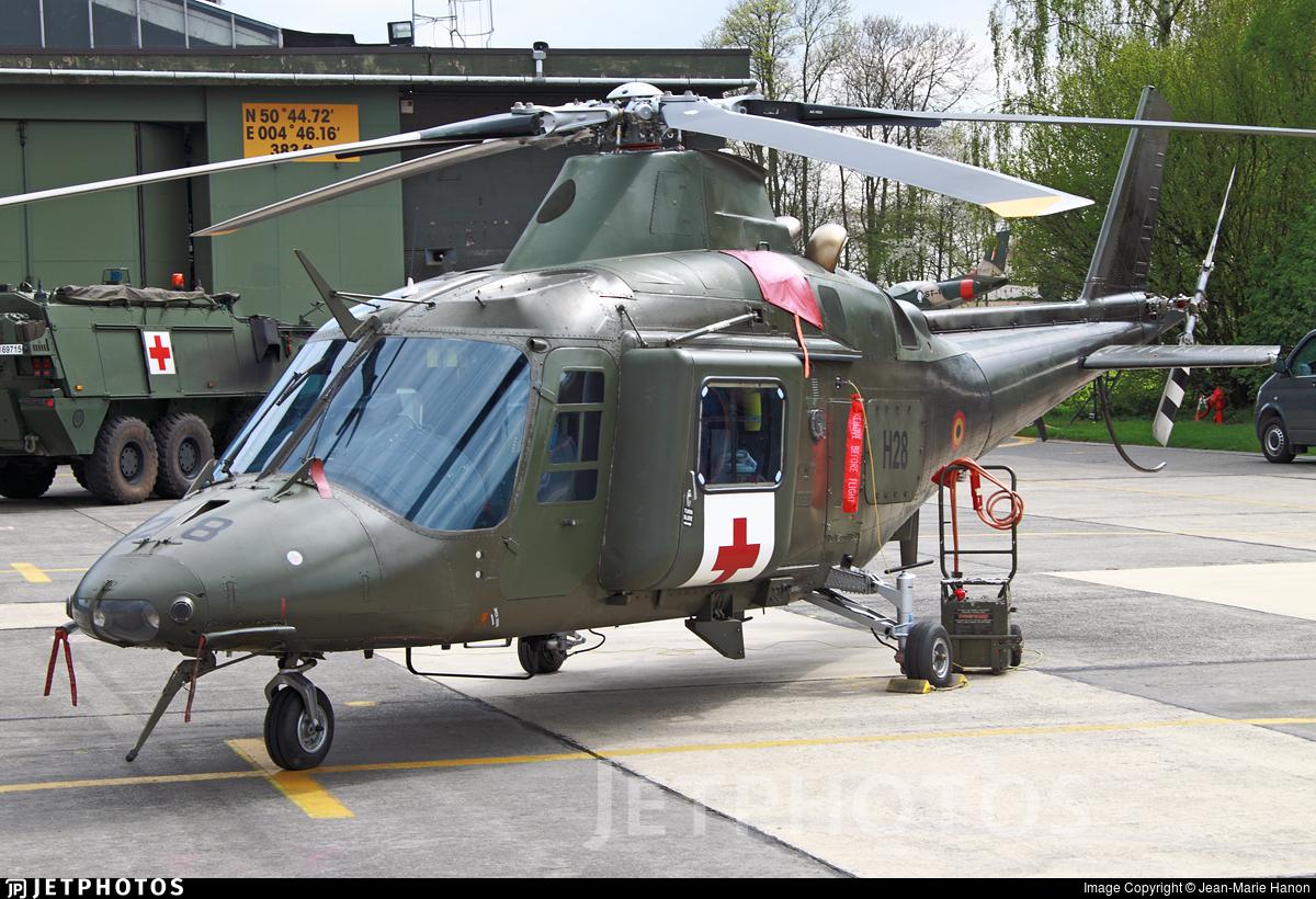 H28 - Agusta A109BA - Belgium - Air Force