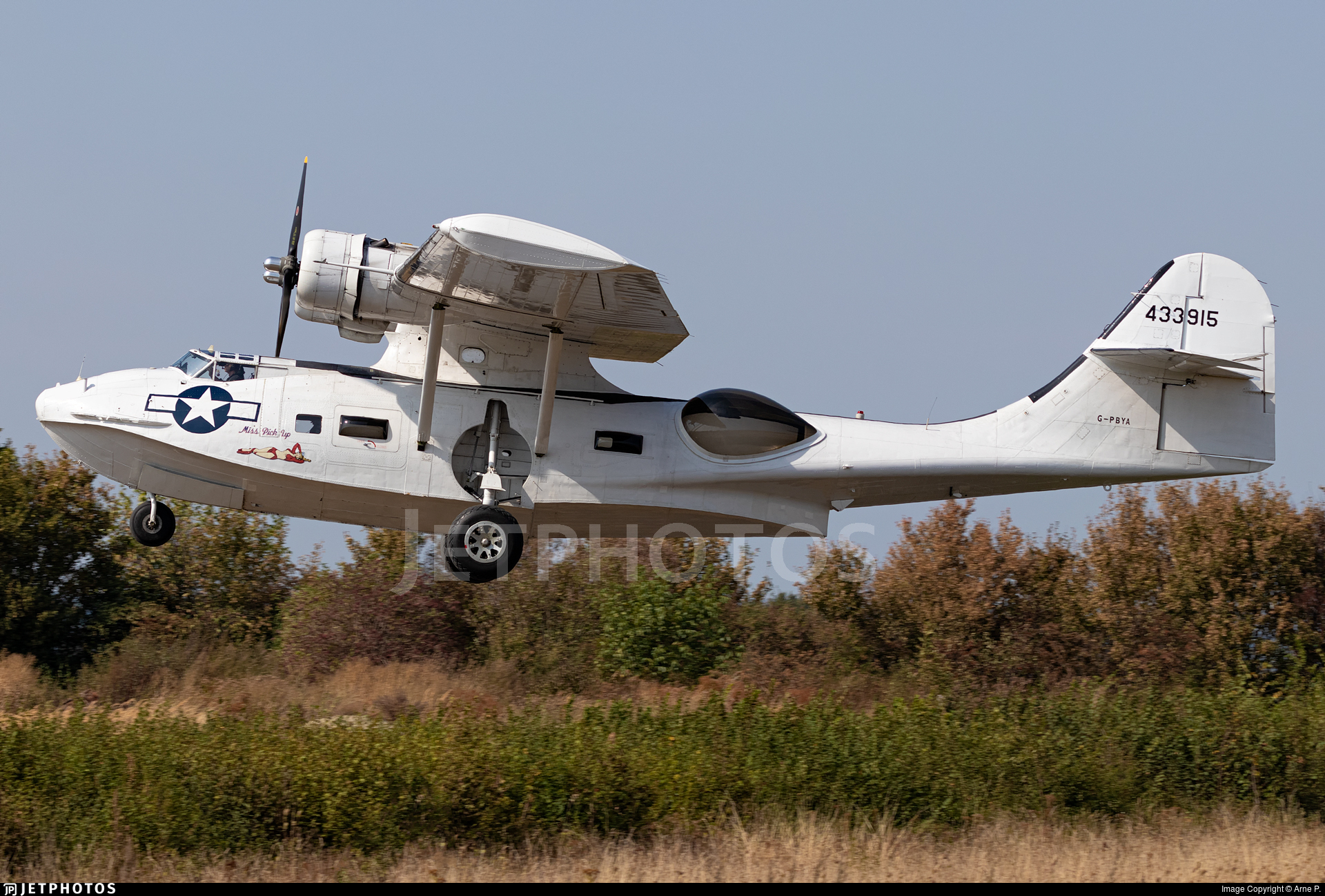 G-PBYA - Consolidated PBY-5A Catalina - Private