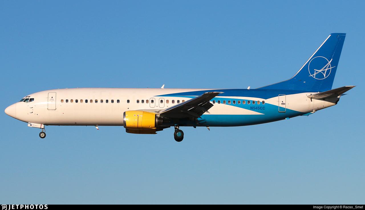 N545CC - Boeing 737-48E - iAero Airways