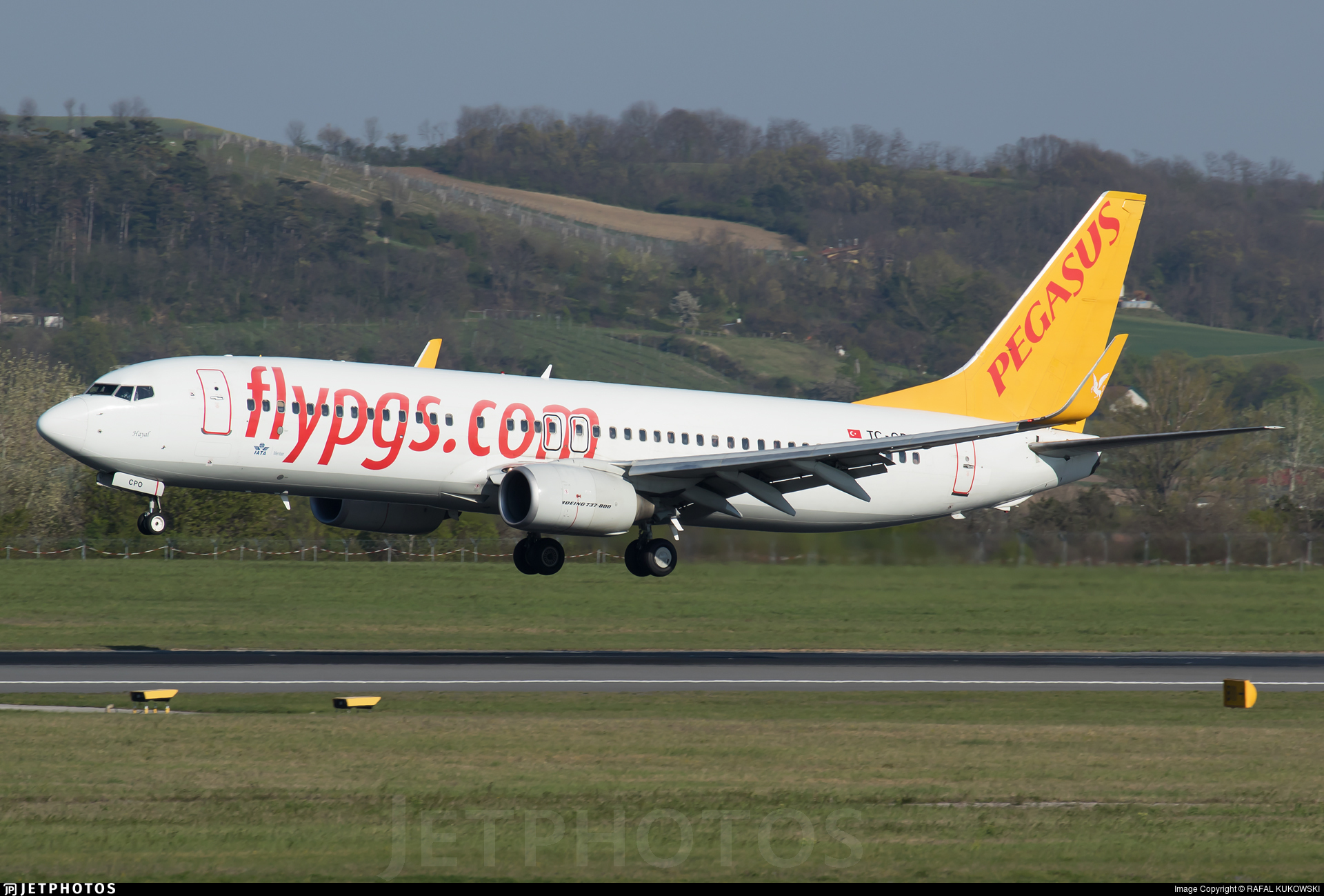 TC-CPO - Boeing 737-8AS - Pegasus Airlines