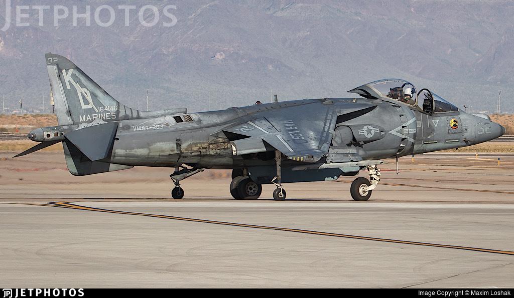 164146 - McDonnell Douglas AV-8B Harrier II - United States - US Marine Corps (USMC)