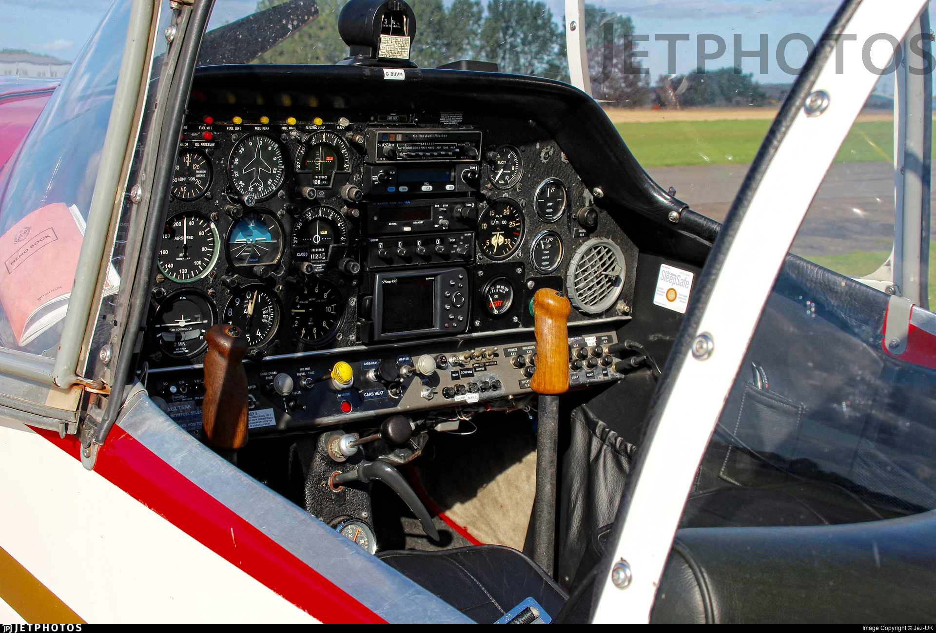 G-BUVM - Jodel DR250/160 Capitaine - Private
