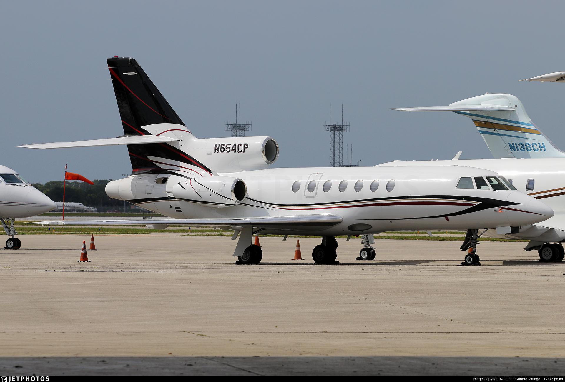 N654CP - Dassault Falcon 50 - Private